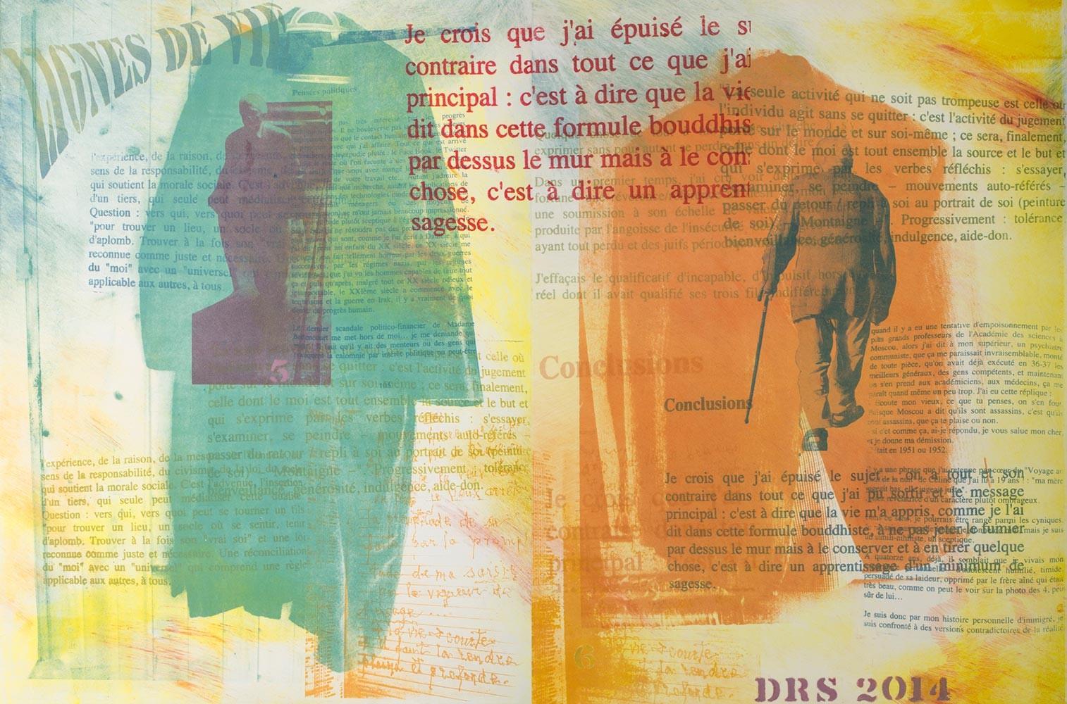 #05 & #06 - Linges De Vie 44 X 30