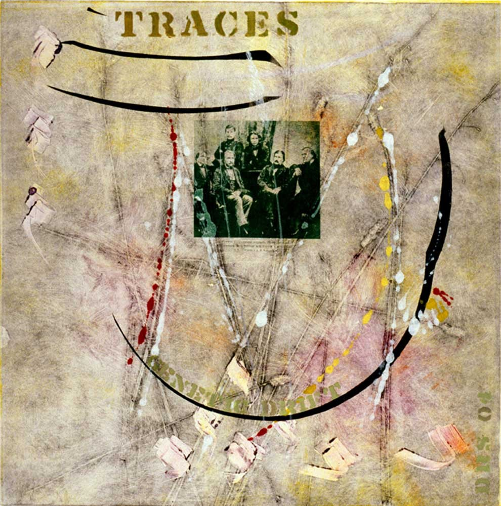 Traces genetic drift (2004)   20 X 20