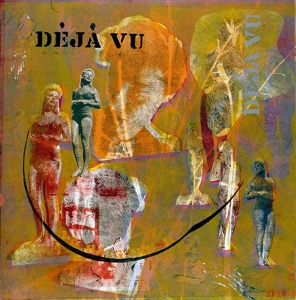 Deja Vu #2 - monotype with transfers  20 X 20