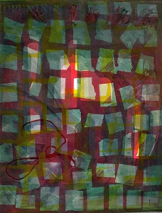 Openings - monotype  22 X 30
