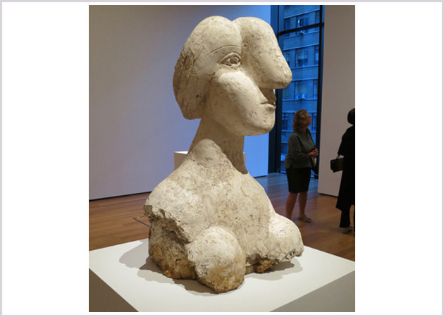 Artselves - Picasso - Bust of a Woman